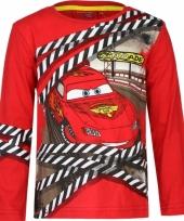Cars lightning mcqueen t-shirt rood trend