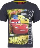 Cars t-shirt grijs voor jongens trend