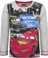 Cars t-shirt mc queen grijs trend