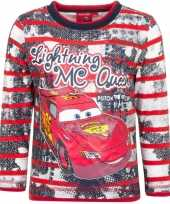Cars t-shirt mc queen rood trend