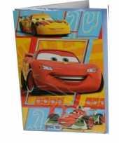 Cars verjaardagskaart 26 cm trend