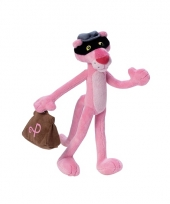 Cartoon knuffel boef pink panther trend