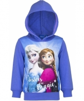 Cartoon sweater frozen paars trend