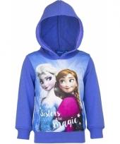 Cartoon sweater frozen paars trend