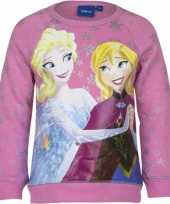 Cartoon trui frozen roze trend