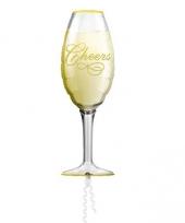 Cheers champagne ballon helium trend