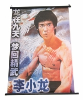 Chinese decoratie poster bruce lee trend