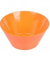 Chips schaaltje oranje trend