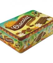 Chocolade bewaarblik 2 5 liter trend