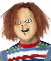 Chucky hoofd masker trend