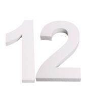 Cijfer drie van piepschuim 25 cm trend 10078555