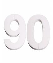 Cijfer drie van piepschuim 25 cm trend 10078572