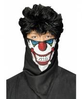 Clown bandana masker trend