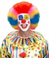 Clownspruiken rainbow trend