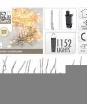 Clusterverlichting warm wit buiten 1152 lampjes trend 10105208