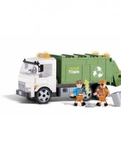 Cobi vuilniswagen bouwstenen set trend