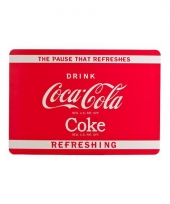 Coca cola placemat rood trend
