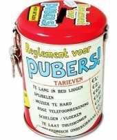 Collectebus reglement voor pubers trend