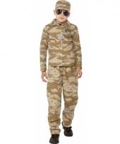 Commando verkleed outfit voor jongens trend