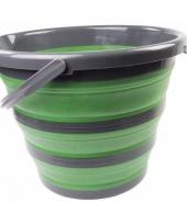 Compacte schoonmaak emmer groen trend