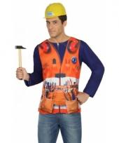 Compleet bouwvakker kostuum voor heren trend