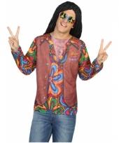 Compleet hippie kostuum voor heren trend
