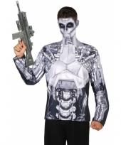 Compleet robot kostuum voor heren trend