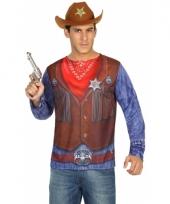 Compleet sheriff kostuum voor heren trend