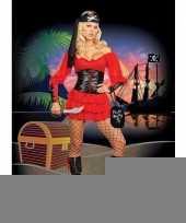 Complete piraten jurk voor dames trend