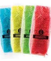Confetti gekleurd biolosch oplosbaar trend