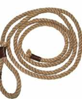 Cowboy lassos van touw trend
