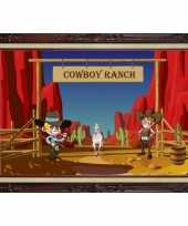Cowboy ranch poster 59 x 42 cm trend