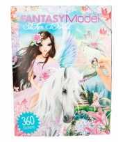 Creeer je eigen fantasie wereld stickerboek sprookjes trend