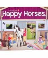 Creeer je eigen paarden wereld stickerboek trend