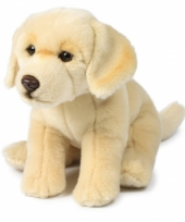 Creme labrador honden knuffeltje trend