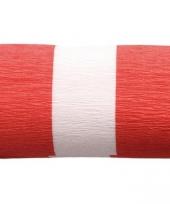 Crepe slingers rood wit rood trend
