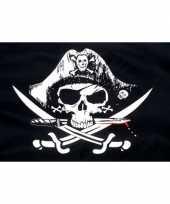 Crossed sabres piratenvlaggen trend
