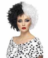 Cruella pruik voor dames trend