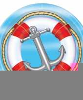 Cruise thema bordjes 8 stuks trend