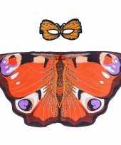 Dagpauwoog vlinder verkleedset voor meisjes trend