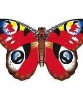 Dagpauwoog vlinder vlieger 70 x 48 cm trend