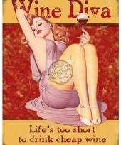 Dames gadgets wijn diva trend