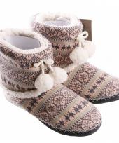 Dames pantoffels nordic roze trend