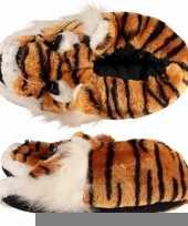 Dames sloffen tijger trend