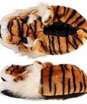 Dames warme sloffen tijger maat 39 40 trend