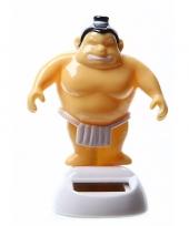 Dansende sumo worstelaar 10 cm solar trend