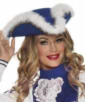 Dansmarietje blauwe hoed voor dames trend