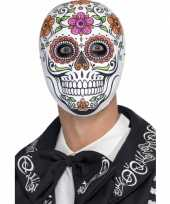 Day of the dead senor bones masker trend