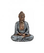 Decoratie beeld boeddha 23 cm trend