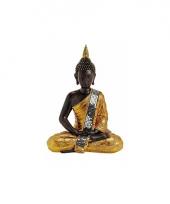 Decoratie beeld boeddha 30 cm trend 10068751